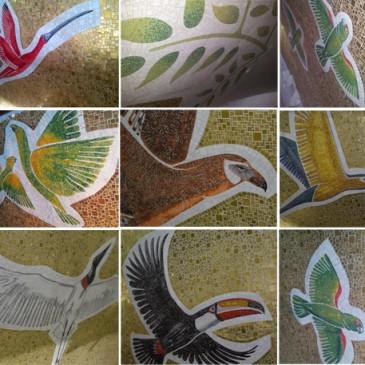 Il mosaico italo-brasiliano di Aparecida