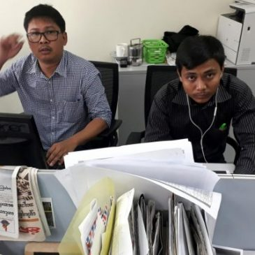Libertà di stampa, la trappola birmana