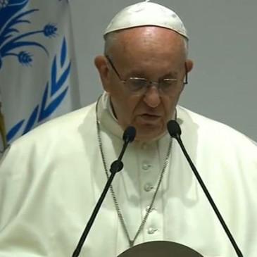 Papa Francesco: bisogna de-naturalizzare la fame