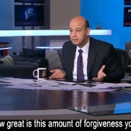 L'anchorman alla vedova copta: «Ma quanto è grande questo vostro perdono?»