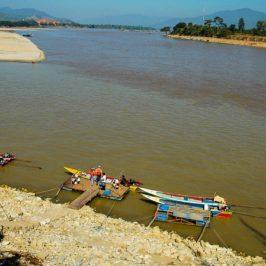 Secca del Mekong: livello più basso da cent'anni