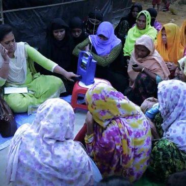 Una frequenza radio per i profughi Rohingya
