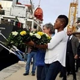 Sul molo dei migranti la Porta di Reggio Calabria