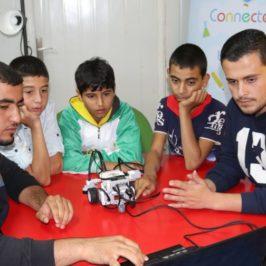 Il robot anti Covid inventato dai rifugiati siriani