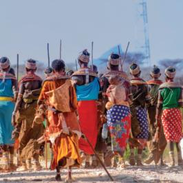 Julietta prima suora Samburu