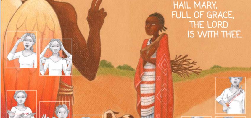 Pregare con lingua dei segni in Sud Sudan
