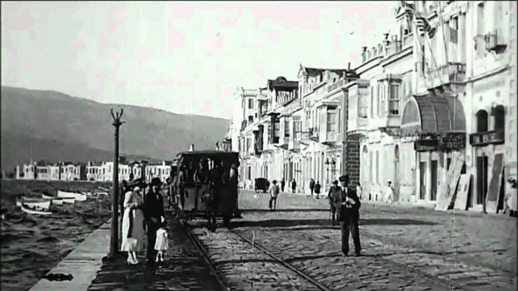 Una veduta di Smirne all'inizio del Novecento