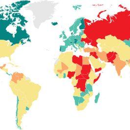 Guerra e pace: un mondo sempre più diviso