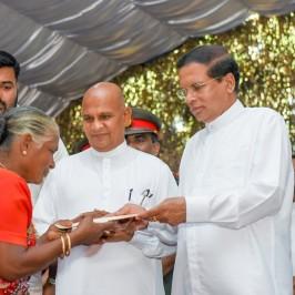 Tentativi di riconciliazione in Sri Lanka
