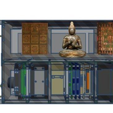 Giappone, un tempio buddhista nello Spazio