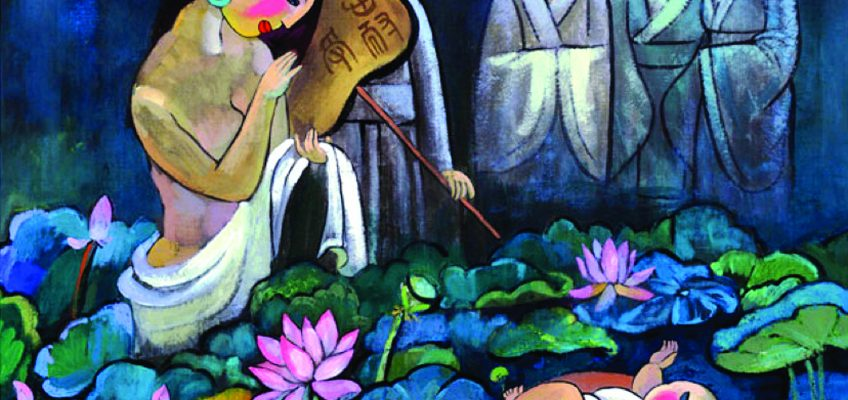Il bello della fede: Mosè tra i fiori di loto