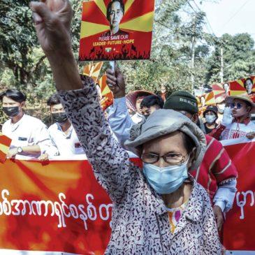 Myanmar: come potevamo noi cantare