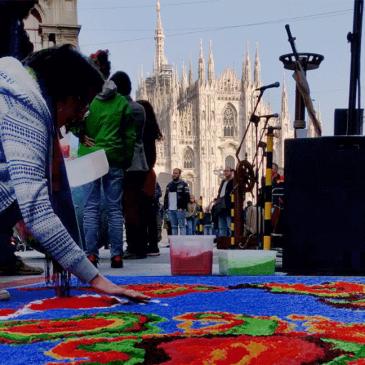 Gesù per le strade, nella Milano di oggi